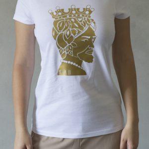 t-shirt ni ma bi, disegno aristide oro