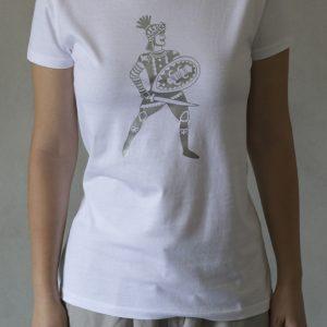 t-shirt ni ma bi bianca, disegno rinaldo argento